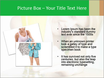 Woman And Orange Juice PowerPoint Template - Slide 20