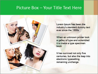 Woman And Orange Juice PowerPoint Template - Slide 23