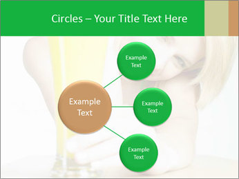 Woman And Orange Juice PowerPoint Template - Slide 79