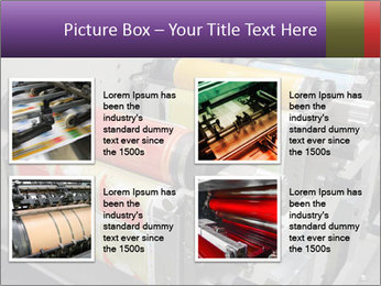 Press Production PowerPoint Template - Slide 14