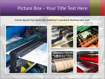Press Production PowerPoint Template - Slide 19