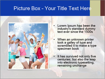 Trio Of Girlfriends PowerPoint Template - Slide 13