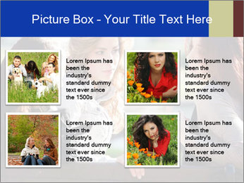 Trio Of Girlfriends PowerPoint Template - Slide 14