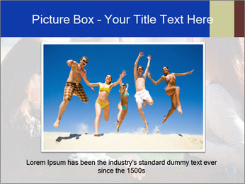 Trio Of Girlfriends PowerPoint Template - Slide 16