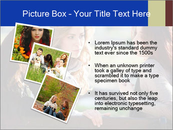 Trio Of Girlfriends PowerPoint Templates - Slide 17