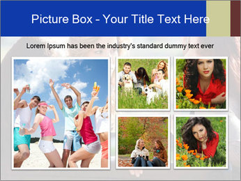 Trio Of Girlfriends PowerPoint Template - Slide 19