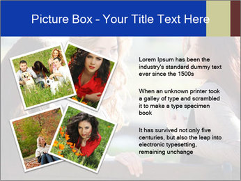 Trio Of Girlfriends PowerPoint Template - Slide 23