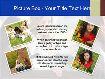 Trio Of Girlfriends PowerPoint Templates - Slide 24