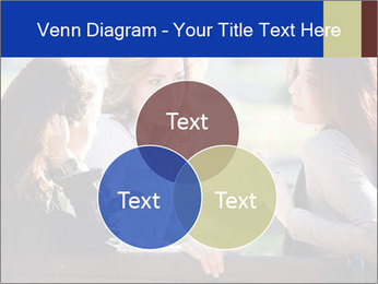 Trio Of Girlfriends PowerPoint Template - Slide 33