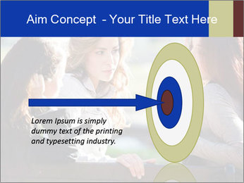 Trio Of Girlfriends PowerPoint Template - Slide 83