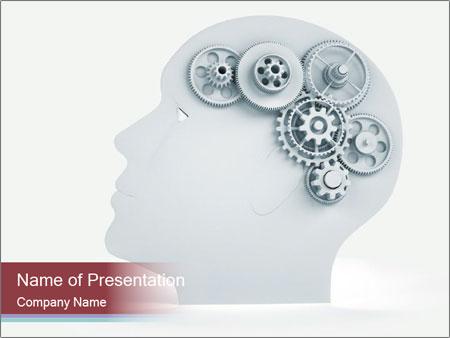 Human Brain Mechanism PowerPoint Template