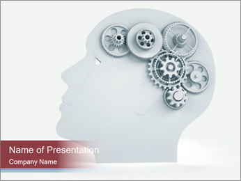 Human Brain Mechanism PowerPoint Template
