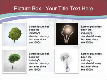 Human Brain Mechanism PowerPoint Template - Slide 14