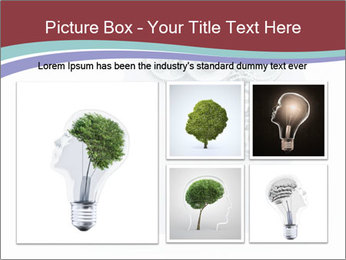 Human Brain Mechanism PowerPoint Template - Slide 19