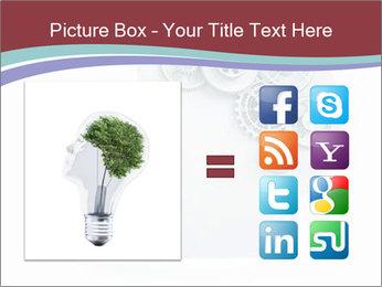 Human Brain Mechanism PowerPoint Template - Slide 21