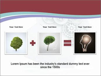 Human Brain Mechanism PowerPoint Template - Slide 22