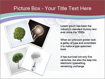 Human Brain Mechanism PowerPoint Template - Slide 23