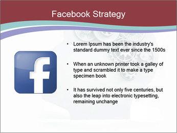 Human Brain Mechanism PowerPoint Template - Slide 6