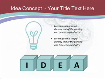 Human Brain Mechanism PowerPoint Template - Slide 80