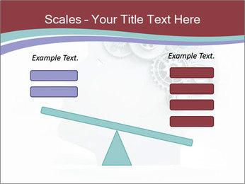 Human Brain Mechanism PowerPoint Template - Slide 89