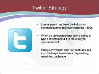 Human Brain Mechanism PowerPoint Template - Slide 9