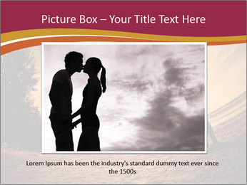 Happiness and romantic Scene of love couples partners on the Beach PowerPoint Template - Slide 15