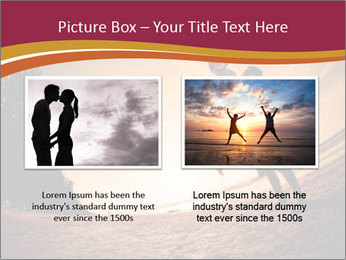 Happiness and romantic Scene of love couples partners on the Beach PowerPoint Template - Slide 18