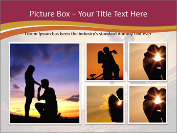 Happiness and romantic Scene of love couples partners on the Beach PowerPoint Template - Slide 19