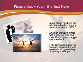 Happiness and romantic Scene of love couples partners on the Beach PowerPoint Template - Slide 20