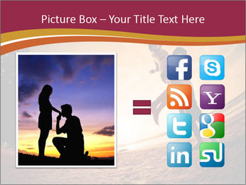 Happiness and romantic Scene of love couples partners on the Beach PowerPoint Template - Slide 21