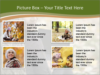 Beautiful woman working with a laptop PowerPoint Templates - Slide 14