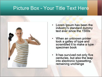 Woman Takes Pills PowerPoint Templates - Slide 13