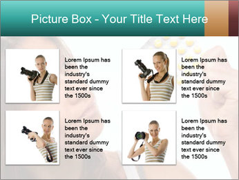 Woman Takes Pills PowerPoint Template - Slide 14