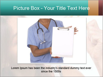 Woman Takes Pills PowerPoint Templates - Slide 16