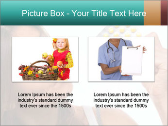 Woman Takes Pills PowerPoint Template - Slide 18