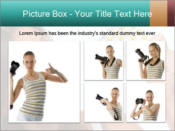 Woman Takes Pills PowerPoint Template - Slide 19