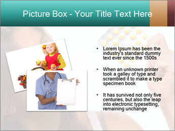 Woman Takes Pills PowerPoint Template - Slide 20