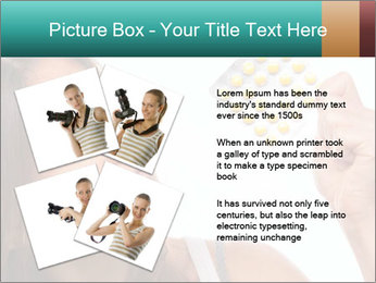 Woman Takes Pills PowerPoint Template - Slide 23