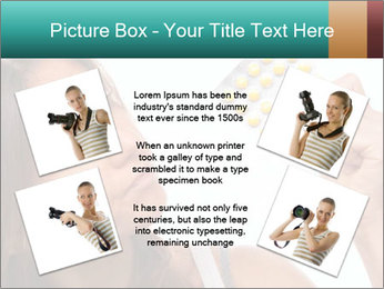 Woman Takes Pills PowerPoint Template - Slide 24