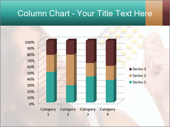 Woman Takes Pills PowerPoint Template - Slide 50