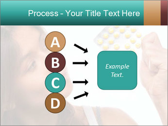 Woman Takes Pills PowerPoint Template - Slide 94