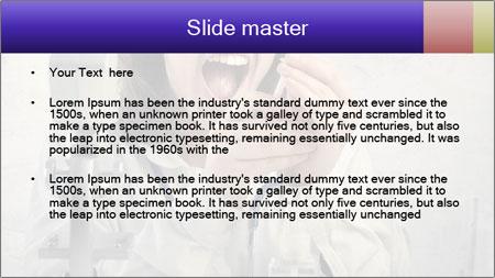Crazy Medicine Student PowerPoint Template - Slide 2