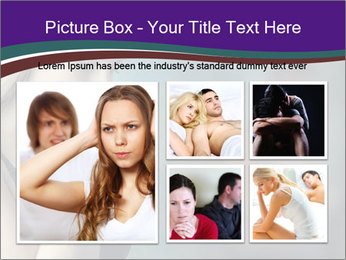 Woman In Crisis PowerPoint Template - Slide 19