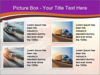 Vehicle And Bright Light PowerPoint Template - Slide 14