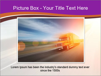 Vehicle And Bright Light PowerPoint Template - Slide 15