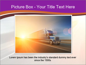 Vehicle And Bright Light PowerPoint Template - Slide 16