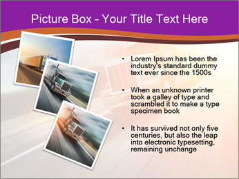 Vehicle And Bright Light PowerPoint Template - Slide 17
