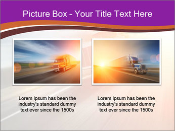 Vehicle And Bright Light PowerPoint Template - Slide 18
