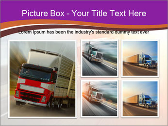 Vehicle And Bright Light PowerPoint Template - Slide 19