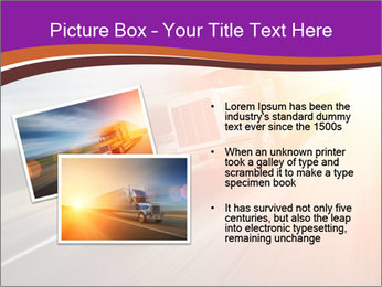 Vehicle And Bright Light PowerPoint Template - Slide 20